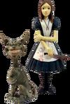 Figurka Alice i Kota z Cheshire