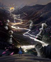 Alice chess rabbit