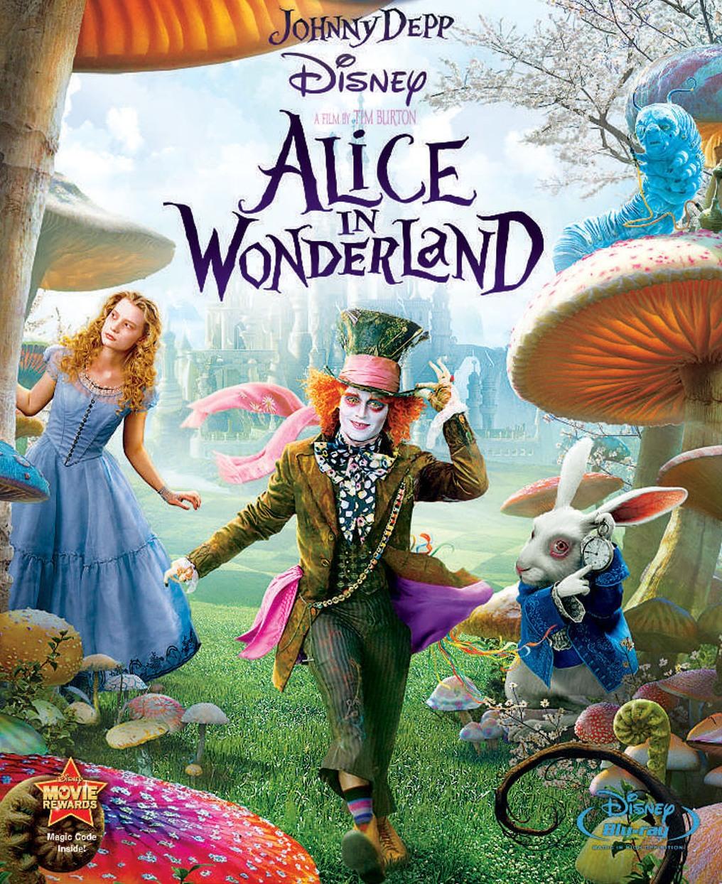 Alice in Wonderland Talking Flowers Queen of Hearts Sugar Skull ~ Burton Inspire