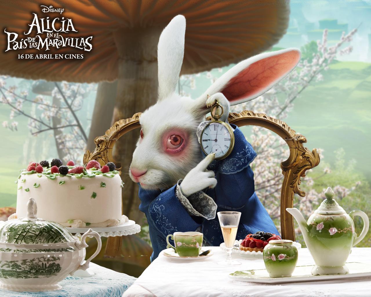 El Conejo Blanco | Alicia en el País de las Maravillas Wiki | FANDOM ...