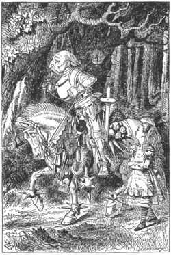 Whiteknight tenniel