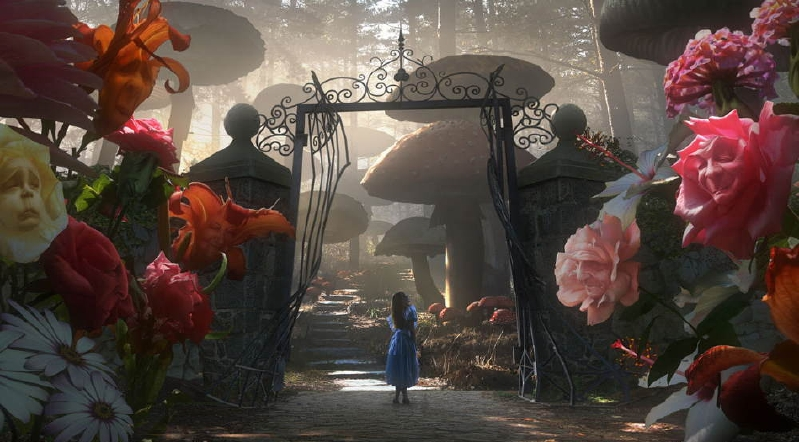 alice in wonderland 1951 - Alice In Wonderland Garden