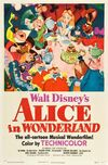 Alicejjj in Wonderland (1951 film) poster