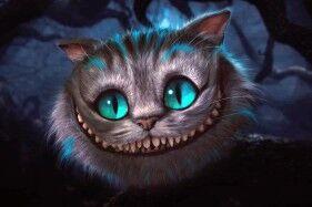 El Gato De Cheshire Alicia En El País De Las Maravillas