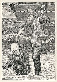 300px-Lewis Carroll - Henry Holiday - Hunting of the Snark - Plate 1