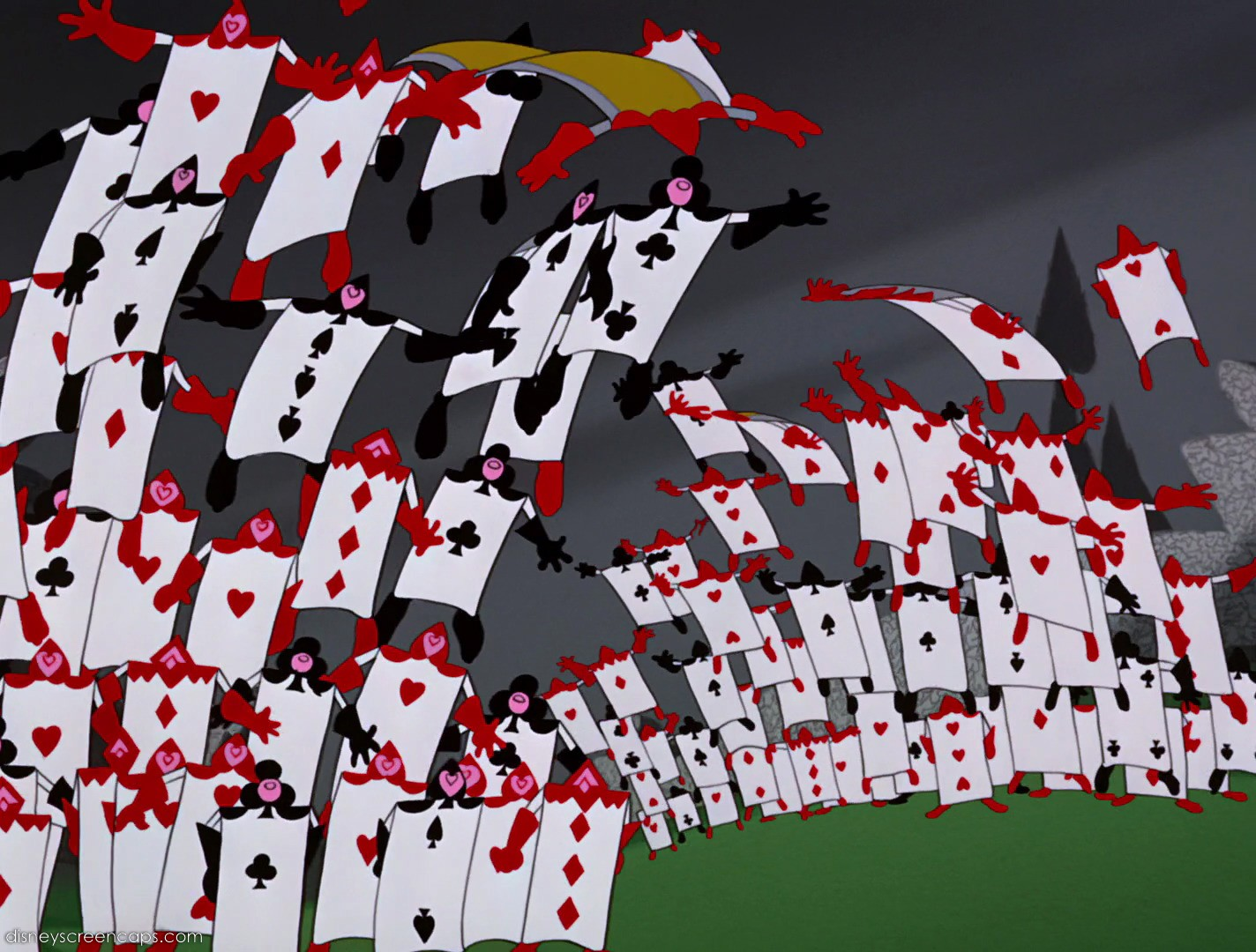 The Playing Cards | Alice in Wonderland Wiki | FANDOM powered by Wikia