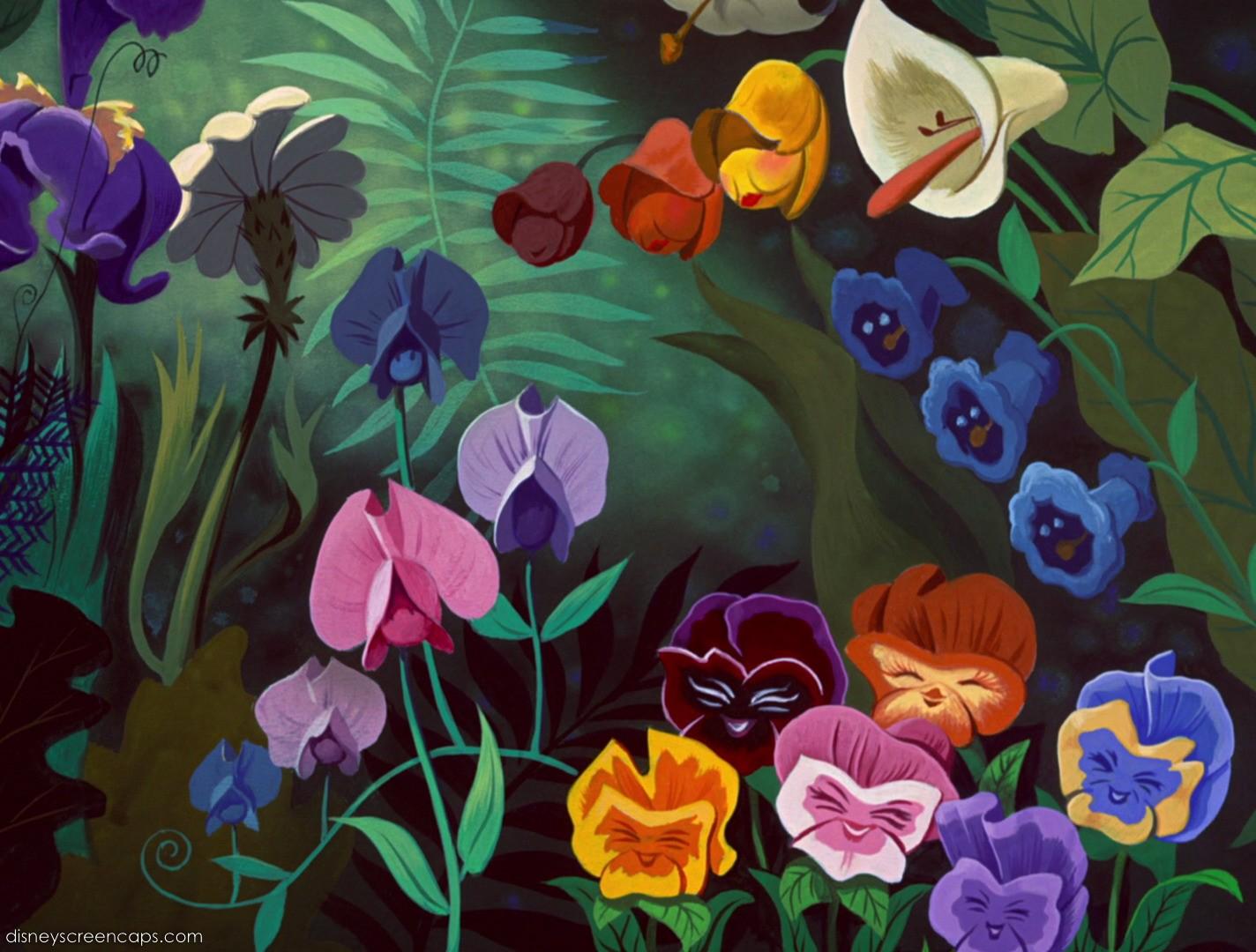 The Flowers Alice In Wonderland Wiki Fandom
