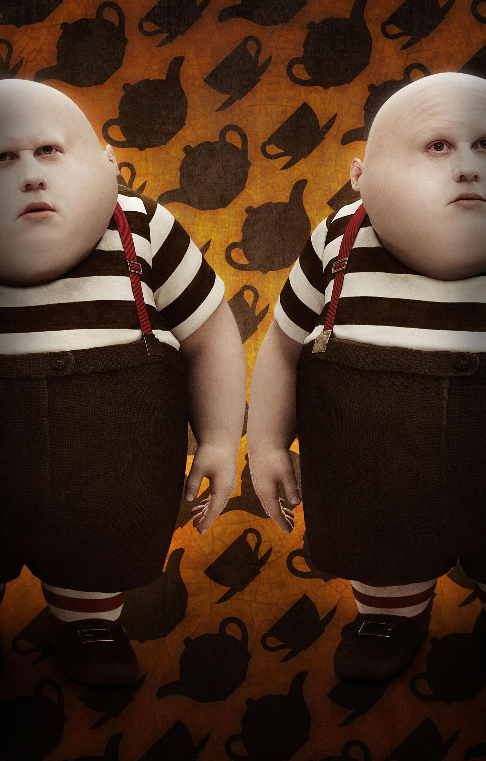 Tweedledee And Tweedledum Alice In Wonderland Wiki Fandom