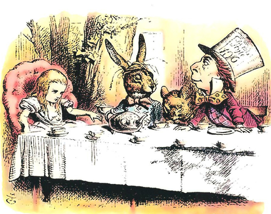 The Mad Tea Party Alice In Wonderland Wiki Fandom Powered By Wikia