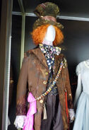 Johnny Depp MadHatter costume