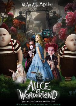 Alice in wonderland poster 2 1 original1