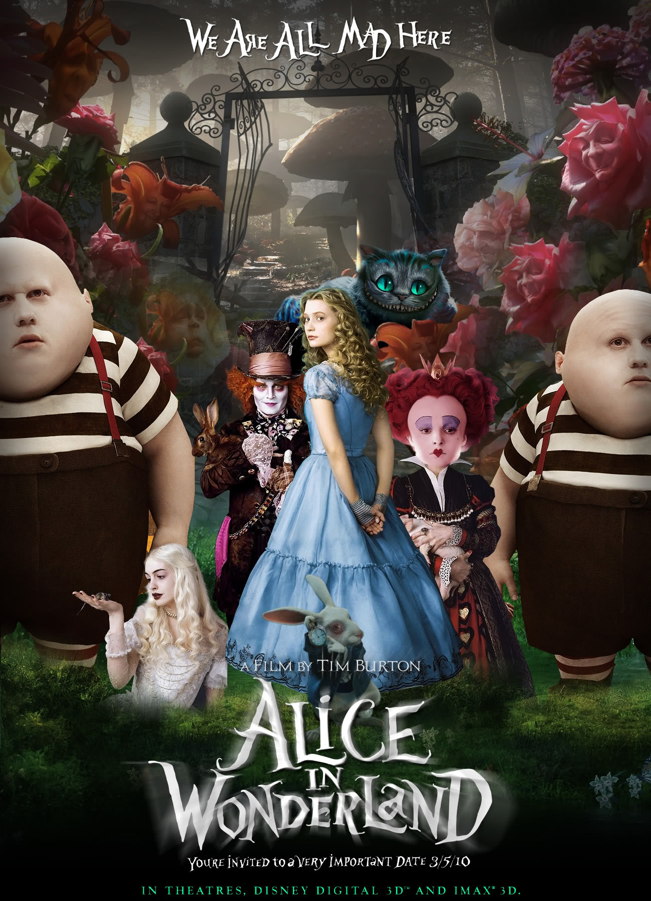 Image result for alice in wonderland movie