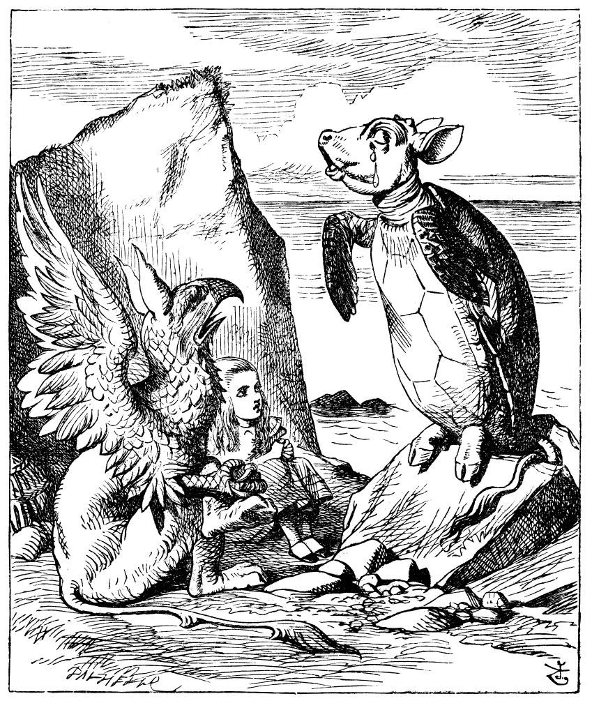 The Mock Turtle Alice In Wonderland Wiki Fandom Powered By Wikia