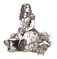 Alice-in-Wonderland-Line-Drawings-alice-in-wonderland-2010-10573742-700-727