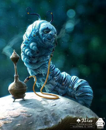 Image result for caterpillar in alice in wonderland