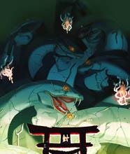 Orochi scene