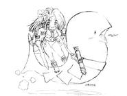 Kaijuu-Princess-Sketch