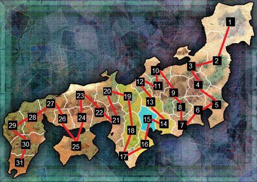 Sengoku Rance - Territory map-0
