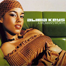 220px-Alicia Keys - A Woman's Worth - CD single cover