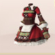 Libyan Folk Dress