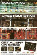 Alien 3 SNES reklama