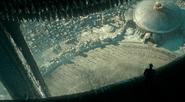 Planet Four Citadel seen from Juggernaut