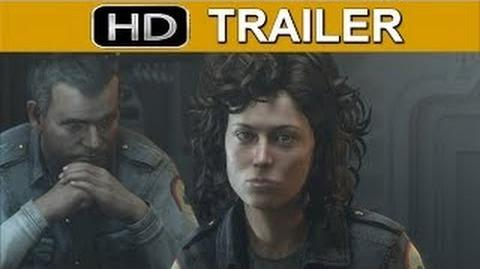 Alien Isolation The Cast of Alien Trailer