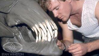 ALIENS Behind-the-Scenes- Sculpting the Alien Queen Head