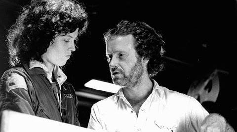 Ridley Scott, H.R. Giger, Sigourney Weaver, Tom Skerritt in 23-minute interview on ALIEN (1979)