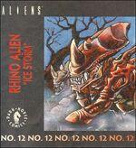 Rhino Alien kenner comic
