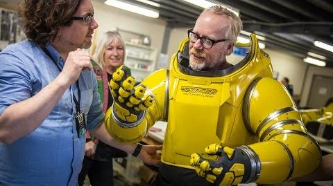 Adam Savage Puts On Alien Covenant's Spacesuit!