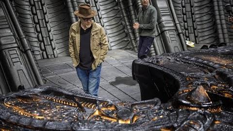 Adam Savage Behind the Scenes of Alien Covenant!