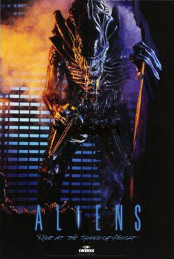 Aliens - Ride at the Speed of Fright