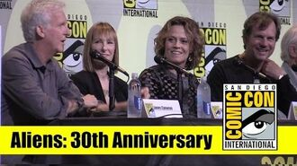 Aliens 2016 Comic Con Full Panel (James Cameron, Sigourney Weaver, Bill Paxton)