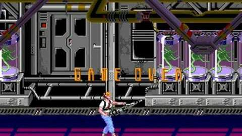 Aliens (Konami 1990) Attract Mode 60fps