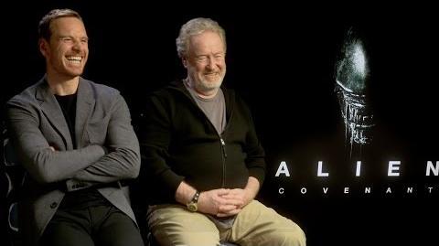 ALIEN COVENANT Interviews Ridley Scott, Michael Fassbender, Waterson, Crudup, McBride, Bichir