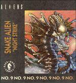Snake Alien kenner comic