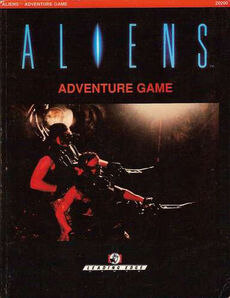 Aliens Adventure Game Book