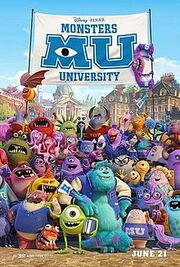 Monsters University poster 3
