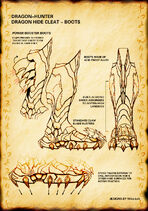 Dragon cleats boot claw by michaelloh