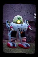 Morbid Airblown Inflatable Alien Robot
