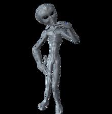 Thinking Alien