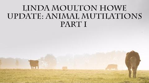 Linda Moulton Howe Animal Mutilations Part I