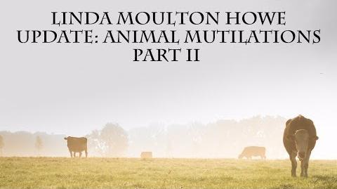 Linda Moulton Howe Animal Mutilations Part II