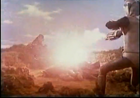 Zone Fighter and Godzilla destroy Jellar and Kastam-Jellar.