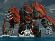 Razen Titan Pyrus vs Spidaro Haos(David vs Goliat)