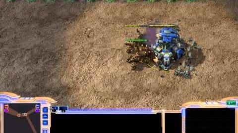 Starcraft 2 - Patch 1.1 Ultralisk vs PF