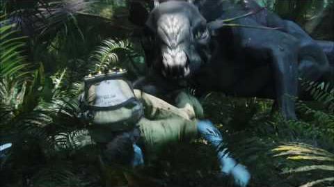 James Cameron's Avatar -Thanator Chase
