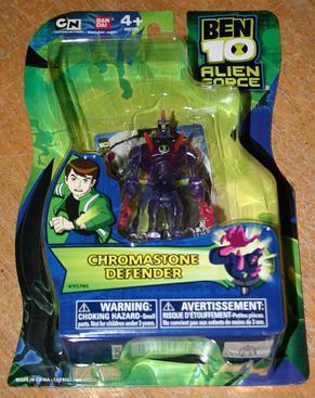 Ben 10 Alien Force Figures Chromastone Defender
