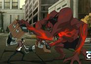 Rex vs Alpha Cuatrobrazos